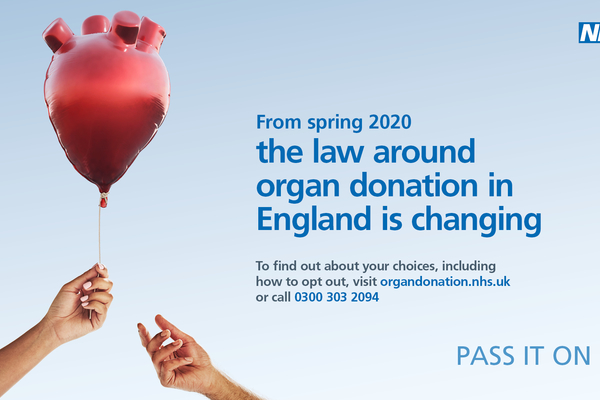 Organ Donation Week (September 2nd to 8th) - organ donation law change